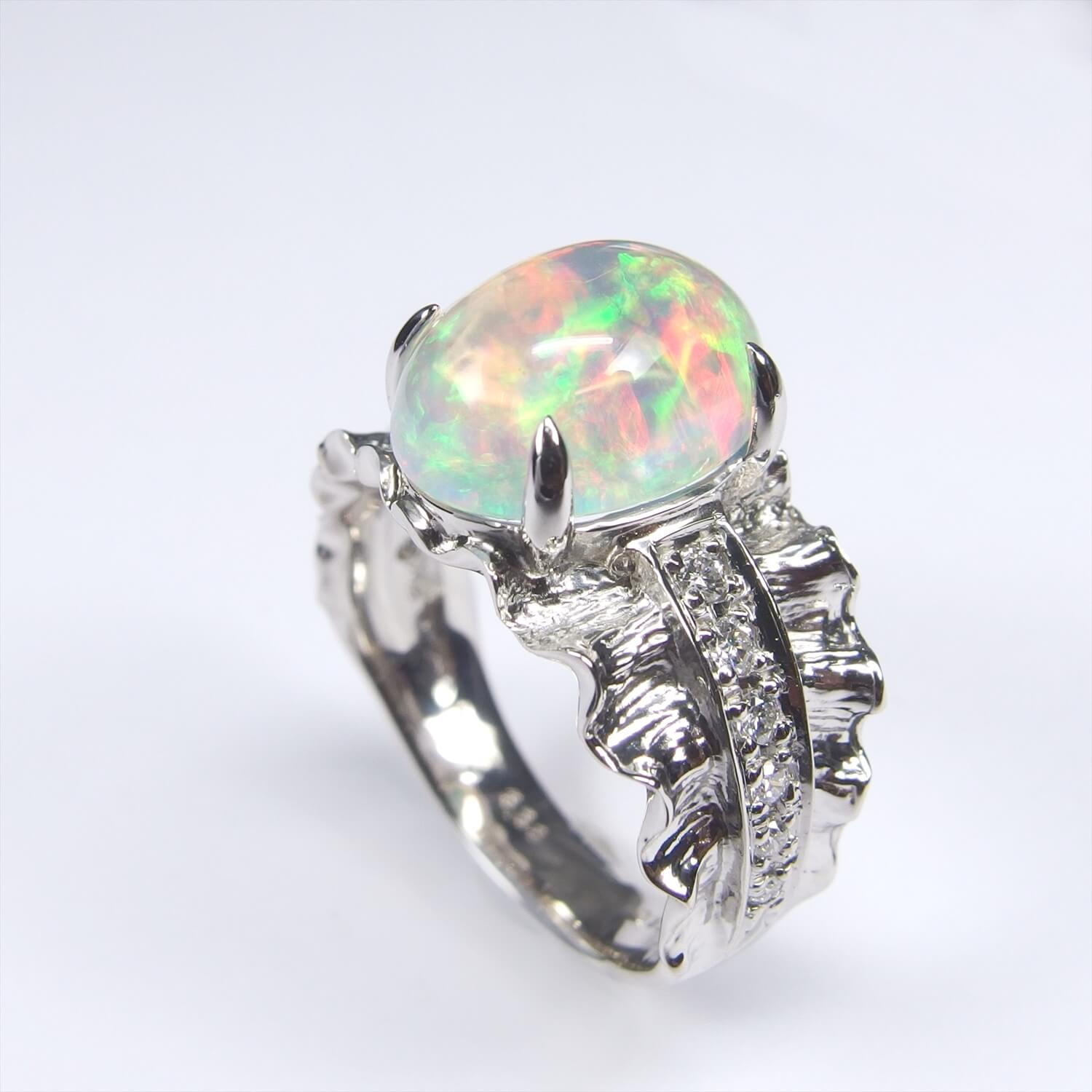 Water Opal Ring